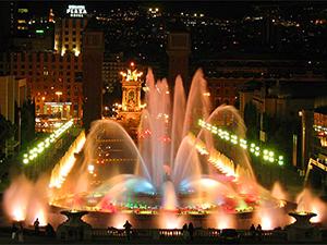 Барселона - Співочі фонтани