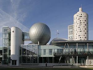 Музей АХХАА і Tigutorn - найвища будівля в Тарту