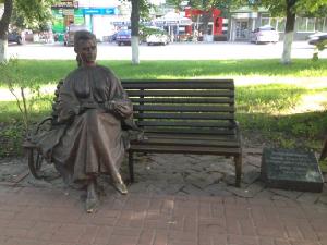 Пам'ятник Любові Забашті