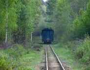 Вузькоколійна залізниця Антонівка — Зарічне