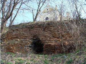 Залишки фортеці в Полонному