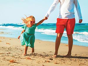 З дітьми на морі