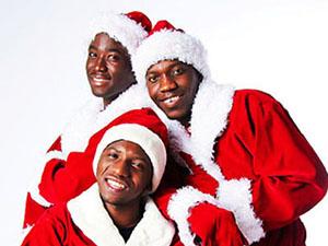 темношкірі Санта Клауси