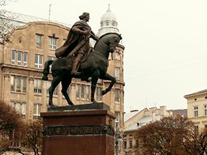 Пам'ятник королю Данилу